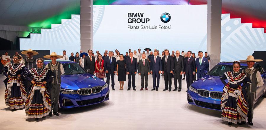 Grupo BMW inaugura su nueva planta en San Luís Potosí