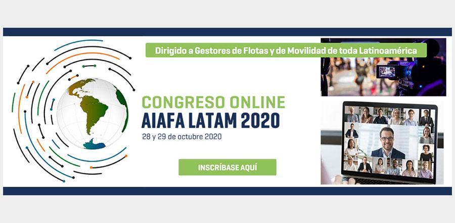 AIAFA organiza su primer Congreso LATAM en formato virtual
