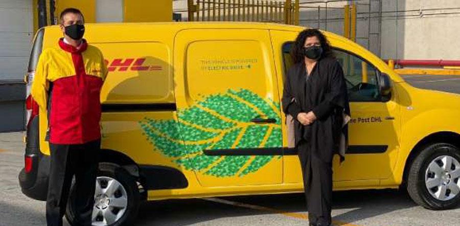DHL México incorpora sus primeros furgones eléctricos