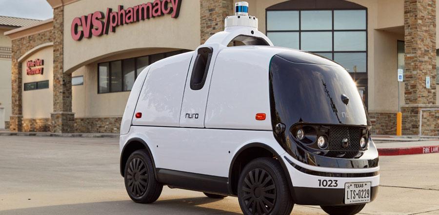 Reparto de medicamentos en vehículos sin conductor