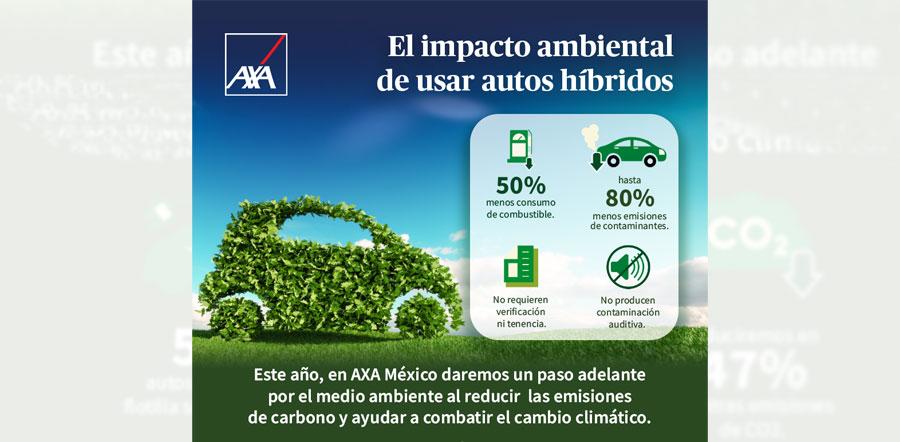 AXA cambiará flotilla de 529 vehículos a modelos híbridos